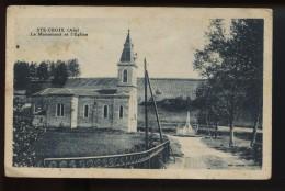 Sainte Croix Le Monument Et L Eglise - Non Classificati