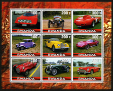 RWANDA - AUTOMOBILES - 1 BLOC FEUILLET NEUF ** - Cars