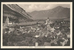EMS GR Domat Ems Imboden Generalansicht 1920 - GR Grisons