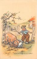"""¤¤  -  Illustrateur """" Germaine BOURET """" -  Mais, Tu Bouffes Comme Un Cochon    -  ¤¤ - Bouret, Germaine"""