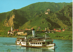 Dürnstein A.d.Donau / Raddampfer SCHÖNBRUNN
