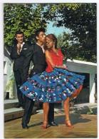Flamenco     Carte Brodée - Ricamate