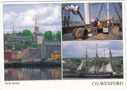 New Ross  - Co. Wexford - Multiview ; Boats & Ships - (Ireland / Eire) - Wexford