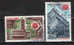 ANDORRA FRANCESE - 1978 - EUROPA UNITA - MONUMENTI - USATI