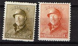 172/3  **  22.25 - 1919-1920 Roi Casqué