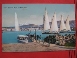 Genève / Genf (GE) -  Rade Et Mont Blanc - GE Ginevra