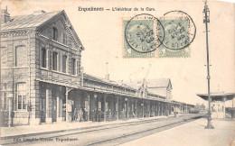 ¤¤  -  BELGIQUE  -  ERQUELINNES  -  L'Intérieur De La Gare  -  Chemin De Fer   -  ¤¤ - Erquelinnes