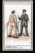 CHROMO GUERIN BOUTRON, LE COMMANDANT ET LE MOUSSAILLON - Guérin-Boutron