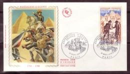 FRANCE - 1972 - FDC - N° 1730 - Bonaparte En Egypte - FDC