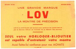 B M L/Buvard  Horlogerie Montre  (N= 1) - Buvards, Protège-cahiers Illustrés