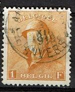 175  Obl  Aminci  55 - 1919-1920 Roi Casqué