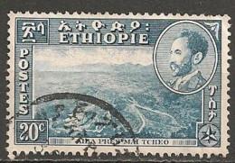 Timbres - Afrique - Ethiopie -1955-1956 - 20 C - - Ethiopie