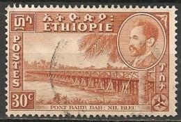 Timbres - Afrique - Ethiopie -1955-1956 - 30 C - - Ethiopie