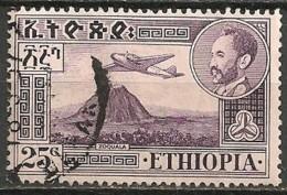 Timbres - Afrique - Ethiopie -1955-1956 - 25 C - - Ethiopie