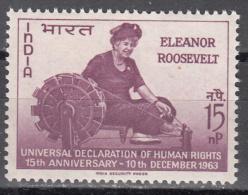 INDIA   SCOTT NO.  379     MNH    YEAR  1963 - India