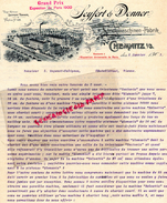 ALLEMAGNE - SAXE- CHEMNITZ -BELLE LETTRE  SEYFERT & DONNER- STRICKMASCHINEN FABRIK-1901 - Germany