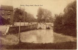 Canne Brug Straat Rue Du Pont 1930 - Riemst