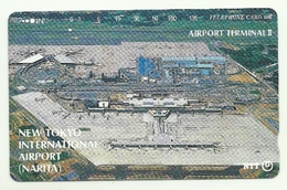 Giappone - Tessera Telefonica Da 105 Units T169 - NTT, - Avions