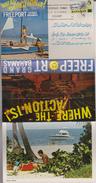 B 187) LEPORELLO  Freeport; Bahamas; Frankiert Mit Mi# 329 O: Postamt, Nassau, MWSt CENSUS 1980 - Ansichtskarten
