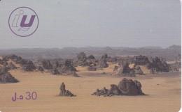TARJETA DE LIBIA DE 30 UNITS DE UN DESIERTO (LIBYANA)