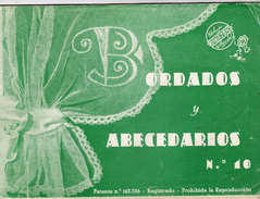 Diburos Aleonchel - Bordados Y Abecedaros N° 10 - Patente N° 143.336 - Valencia - Boeken, Tijdschriften, Stripverhalen