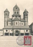 D27155 CARTE MAXIMUM CARD 1956 GERMANY - BASILICA MARIA LAACH CP ORIGINAL - [7] Federal Republic