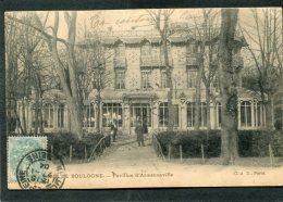 CPA - PARIS - BOIS DE BOULOGNE - Pavillon D'Armenonville, Animé  (dos Non Divisé) - Arrondissement: 16