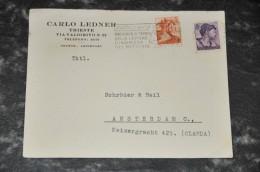 21- Visitenkarten Carlo Ledner - Trieste - Autres