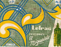 N° 31 - Letras - Hijas : L. Mateu - El Miguelete Valencia - Boeken, Tijdschriften, Stripverhalen