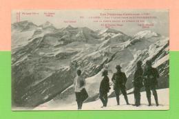 CPA  FRANCE  31  ~  LUCHON  ~  781  Vue D´hiver Prise De Superbagnères  ( Labouche )  Animée - Luchon