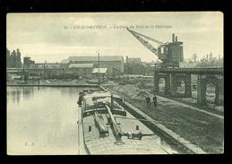 France  :  Escaudoeuvres  :  Un Coin Du Port De La Fabrique  - Péniche - France