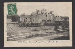 DD / 86 VIENNE / ITEUIL / CHÂTEAU DE LA TROUSSAYE - VUE PRISE DU PARC AU SUD-OUEST / CIRCULÉE EN 1911 - France