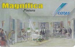TARJETA DE BOLIVIA DE COTAS DE EL MUERTILLO (PINTURA-PAINTING) (MAGNIFICA)