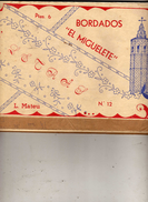 N° 12 - Letras - Hijas : L. Mateu - El Miguelete Valencia - Practical
