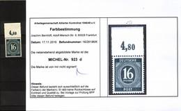 Kontrollrat,923d,mit Oberrand,xx,Befund - Gemeinschaftsausgaben