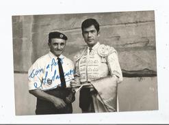 MIGUEL MARQUEZ ESPAGNE MATADOR PHOTO AVEC AUTOGRAPHE - Autographes