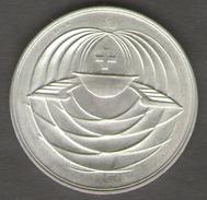 SVIZZERA 50 JAHRE SCHWEIZER MUSTERMESSE 1916 - 1966 AG SILVER - Gettoni E Medaglie