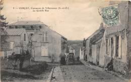 94 - VAL DE MARNE / Cercay - La Grande Rue - Beau Cliché - Otros Municipios