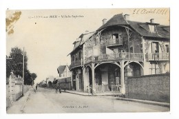 LION Sur MER   (cpa 14)  Villa La Sapinière -   - L 1 - France