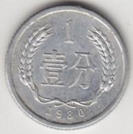 @Y@     China    1  Fen 1980      (3965) - China