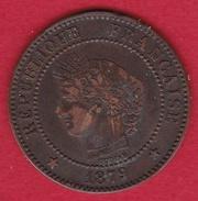 France 2 Centimes IIIe République - 1879  Petit A - Frankrijk
