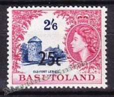 Basutoland - Basoutoland 1961 Yvert 69b, Queen Elizabeth II Effigy - Overprint - MNH - Basutoland (1933-1966)