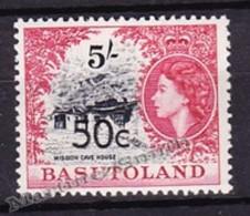 Basutoland - Basoutoland 1961 Yvert 70a, Queen Elizabeth II Effigy - Overprint - MNH - Basutoland (1933-1966)