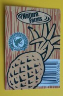 ROMANIA-PINEAPPLE CARD - Fruits & Vegetables