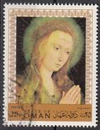 Oman 1970  Quadro Dipinto Paintings Tableaux Nuovo Preobliterato - Oman