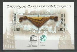 Luxembourg, Mi.-Nr. 1923/24 ,(Block 27) UNESCO-Welterbe ,postfrisch-MNH,