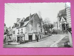 SAINT CYR SUR LOIRE   1950   COMMERCES ROUTE NATIONALE 152 ET BECHELLERIE   FORMAT  10X15 Cm - Saint-Cyr-sur-Loire