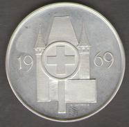 SVIZZERA EIDG SCHUTZENFEST TUR FEDERAL THOUNE TIRO FEDERALE THUN 1969 AG SILVER - Gettoni E Medaglie
