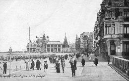 BELGIUM -  OOSTENDE - La Digue Et La Plage - Nieuwpoort