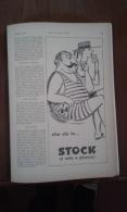Advertising Pubblicità  STOCK  -  1962 - Alcolici